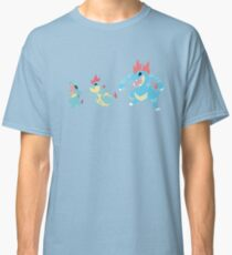 Totodile Evolution Classic T-Shirt