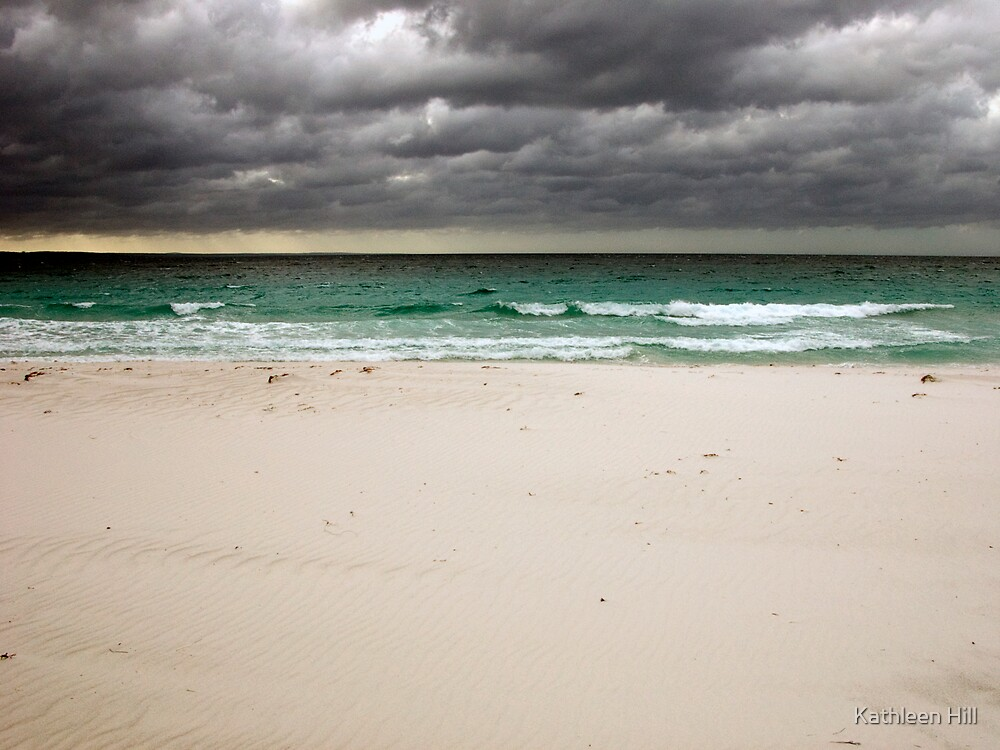 Stormy skies by Kathleen Hill