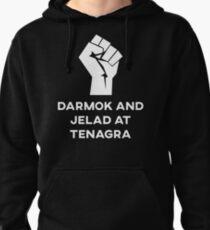 Darmak and Jelad at Tenagra Pullover Hoodie