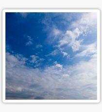 HDR Composite - Crisp Blue Sky Sticker