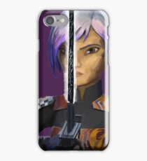 sabine wren darksaber iPhone Case/Skin