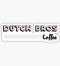 Dutch Bros Coffee Sticker