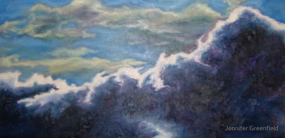 Available- Cinematic Sky II by Jennifer Greenfield
