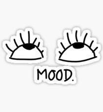 Eye Roll Kinda Mood Sticker