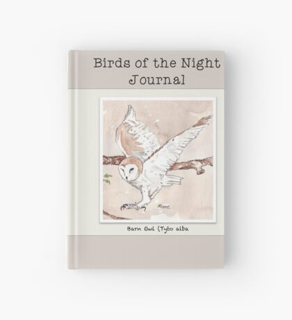 My Barn Owls (male) Hardcover Journal