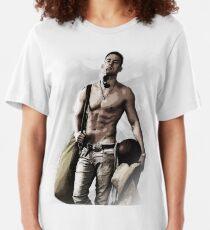 Camiseta ajustada Hot Topless Channing Tatum