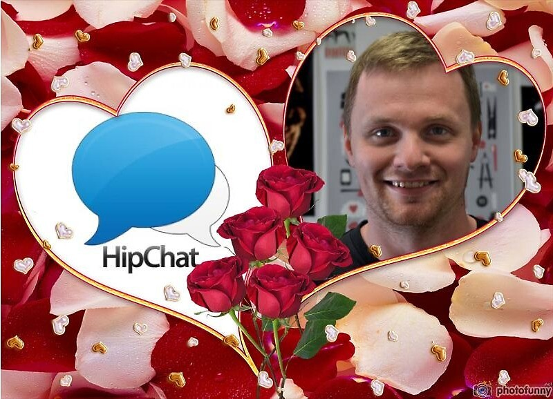 Russell and Hipchat by thomassinclair