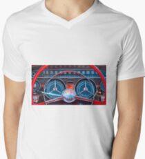 1959 Buick Lesabre Steering Wheel -305c V-Neck T-Shirt