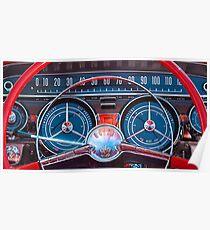 1959 Buick Lesabre Steering Wheel -305c Poster