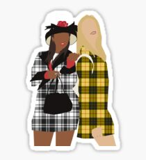 Clueless Sticker