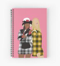Clueless Spiral Notebook