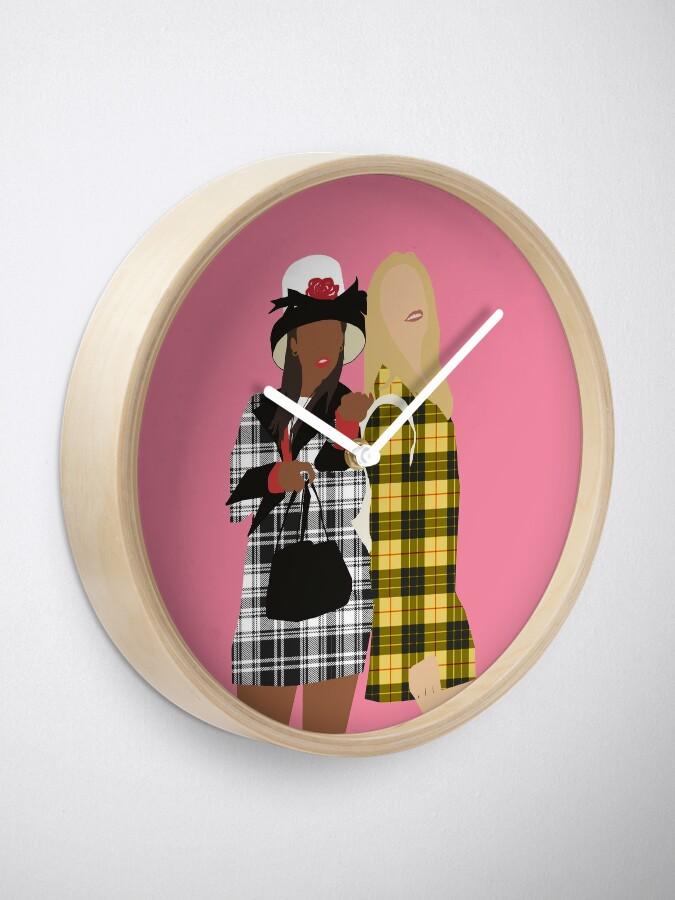 Alternate view of Clueless Clock