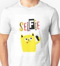 Selfie Cat Unisex T-Shirt