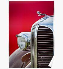 1938 Dodge Ram Grille - Haube Ornament-0294c Poster
