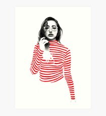 Striped Art Print