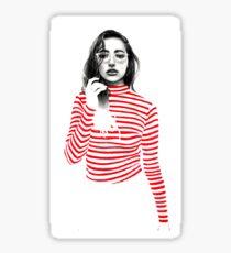 Striped Sticker