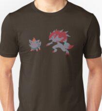 Zorua Evolution Unisex T-Shirt