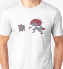 Zorua Evolution Unisex T-Shirt