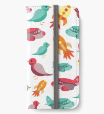 Flight Print iPhone Wallet/Case/Skin