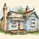 Blue Federation Cottage by Rasendyll