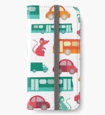 Zoom City Traffic Print iPhone Wallet/Case/Skin