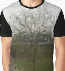 Rainy Blossoms Graphic T-Shirt