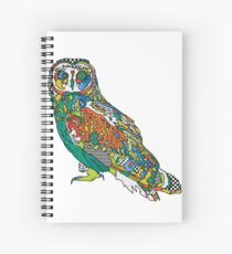 Owl Print Spiral Notebook