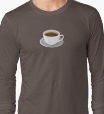 Green Coffee Long Sleeve T-Shirt
