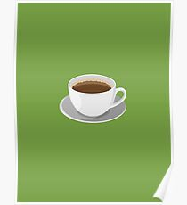 Green Coffee Poster