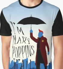 Yandu Poppins Graphic T-Shirt