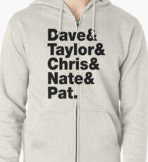 Dave & Taylor & Chris & Nate & Pat - Foo Fighters Zipped Hoodie