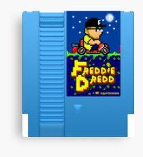 Freddie Dredd - Retro Gaming Cartridge Canvas Print