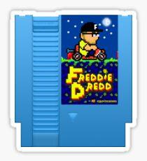 Freddie Dredd - Retro Gaming Cartridge Sticker