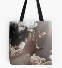 To touch the light Tote Bag