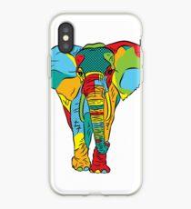 Pop Style Elephant Print iPhone Case
