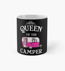Queen Of The Camper-Funny Camping Classic Mug