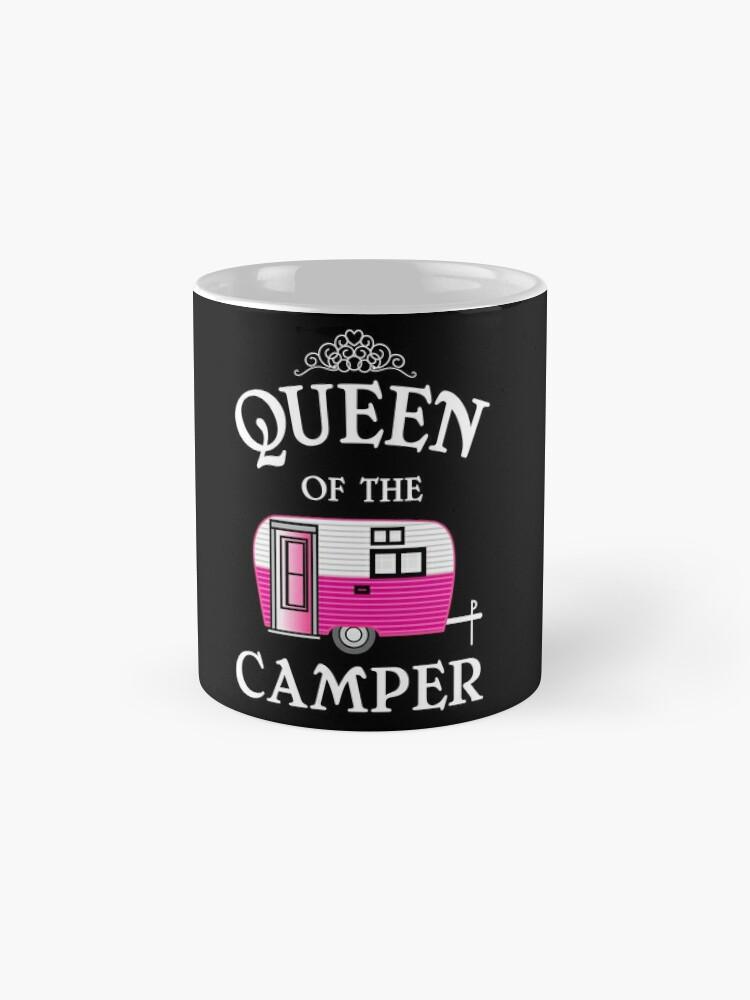 Alternative Ansicht von Königin des Camper-Funny Camping Tassen