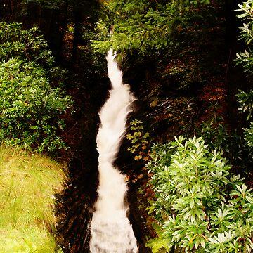 waterfalls by Kacholek