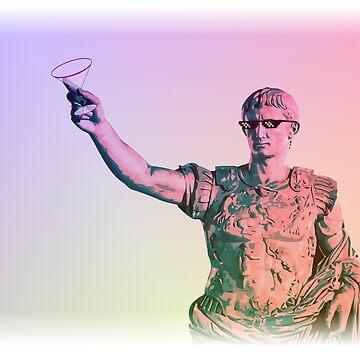 Partying Emperor Augustus by mgcamacho