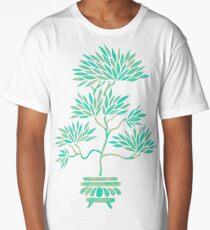 Bonsai Tree – Mint Palette Long T-Shirt