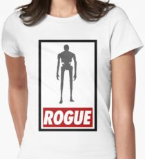 K2SO - Rogue One (Star Wars) - T-shirt Womens Fitted T-Shirt