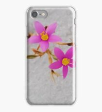 small pink flower iPhone Case/Skin