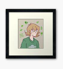 Pidge-y Pudge Framed Print