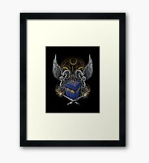 Timelord and Proud Framed Print