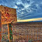 No Trespassing by Deri Dority