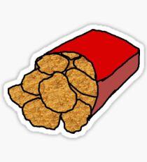 Realistic Chicken Nuggets Sticker