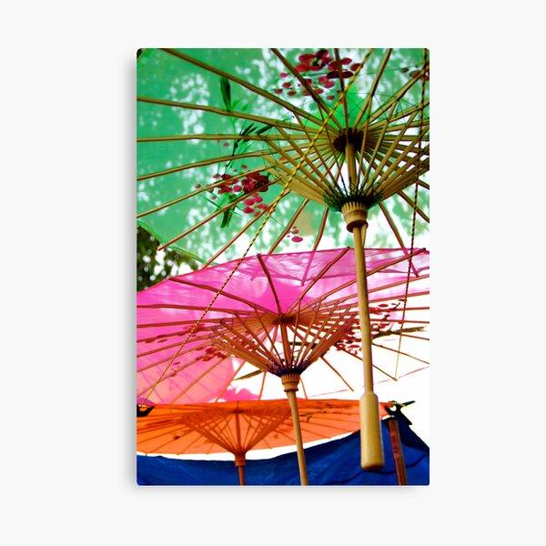 Lisa's Umbrella Canvas Print