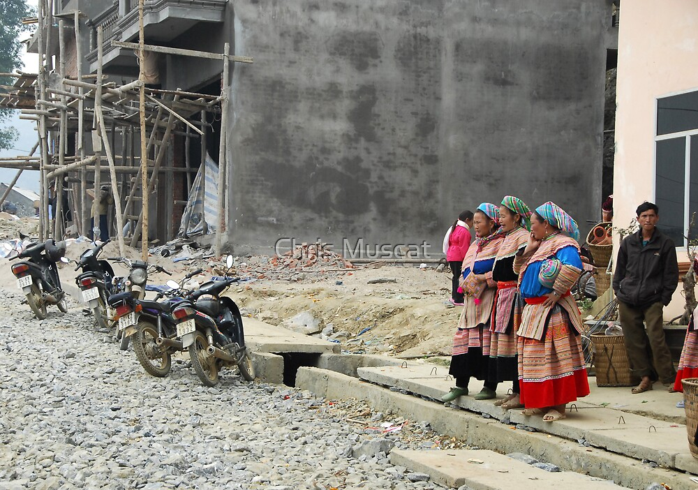 Bac Ha Villagers by Chris Muscat