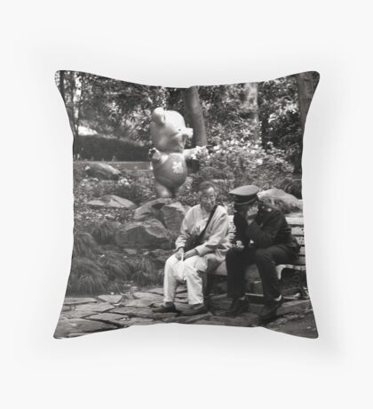 hey there officer Throw Pillow