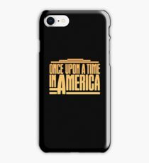 Once Upon A Time In America (1984) Movie iPhone Case/Skin